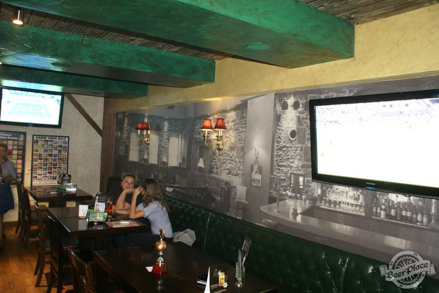 Обзор Лаки Паб | Lucky Pub. Фото. Второй зал. Увеличиваем визуально объем помещения