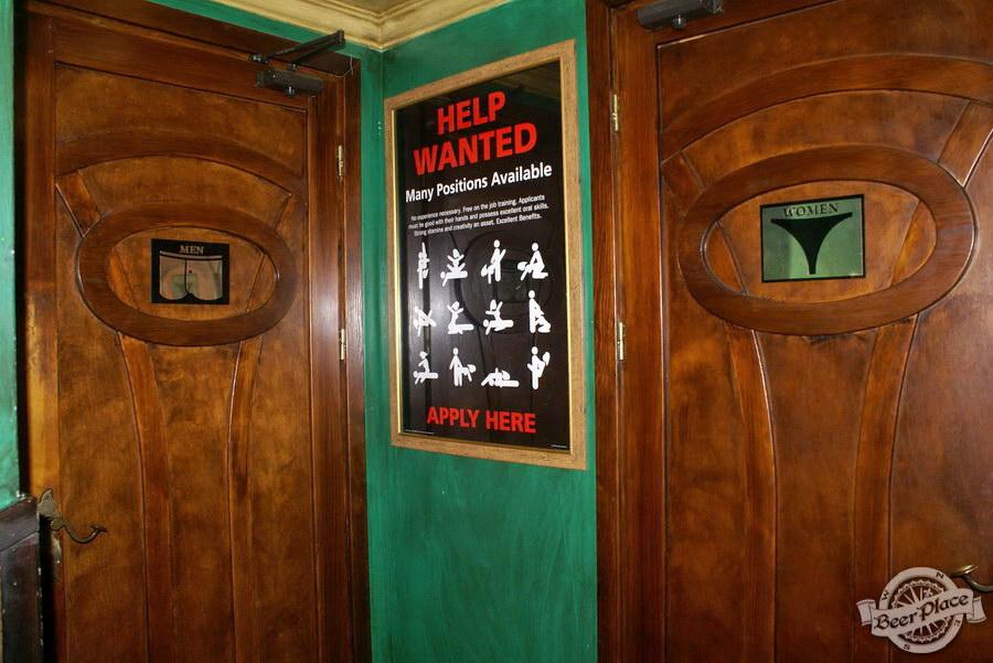 Обзор Лаки Паб | Lucky Pub. Фото. Второй зал. Туалетные комнаты