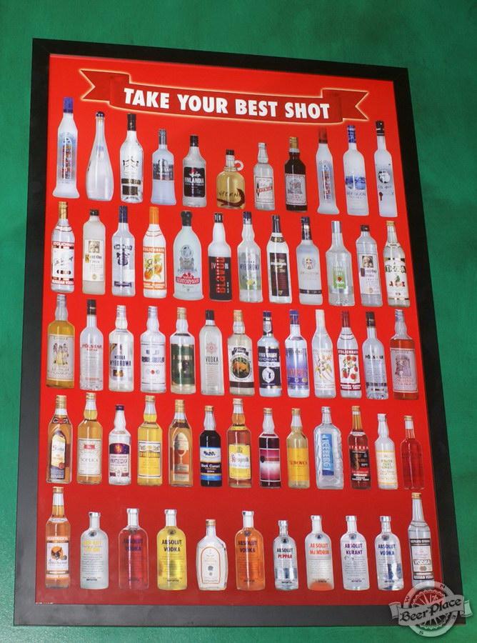 Обзор Лаки Паб | Lucky Pub. Фото. Плакаты на стенах