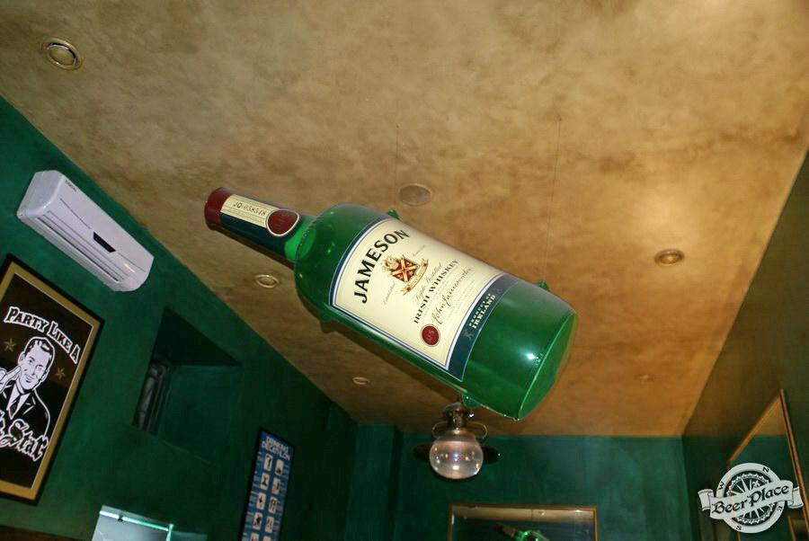Обзор Лаки Паб | Lucky Pub. Фото. Бутылка Jameson