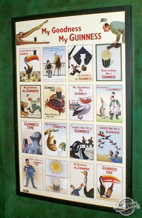 Обзор Лаки Паб | Lucky Pub. Фото. Второй этаж. Guinness