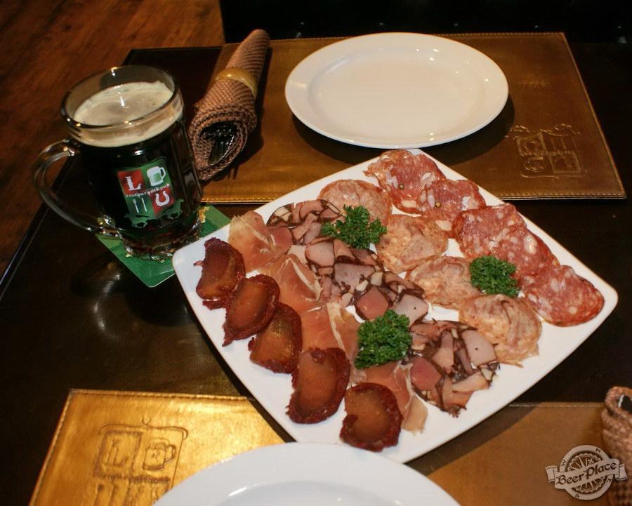 Обзор Лаки Паб | Lucky Pub. Фото. Мясная тарелка