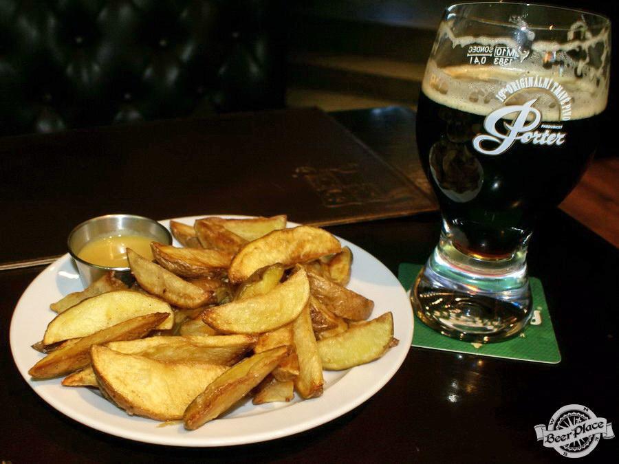 Обзор Лаки Паб | Lucky Pub. Фото. Фирменная картошка Лаки