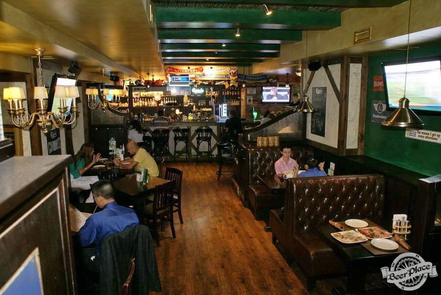 Обзор Лаки Паб | Lucky Pub. Фото. Первый зал. Общий вид со входа