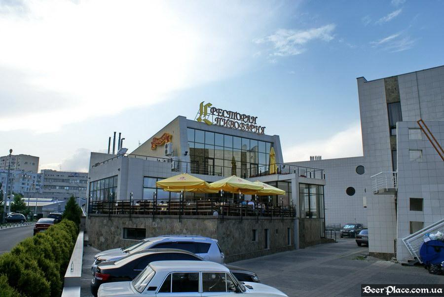 Люстдорф. Ресторан-пивоварня в Одессе. Фото. Общий вид