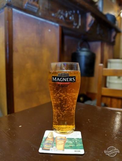 Дегустация ирландского сидра Magners