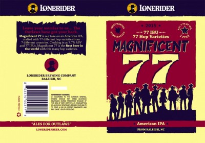 Magnificent 77 American IPA - пиво с 77 сортами хмеля