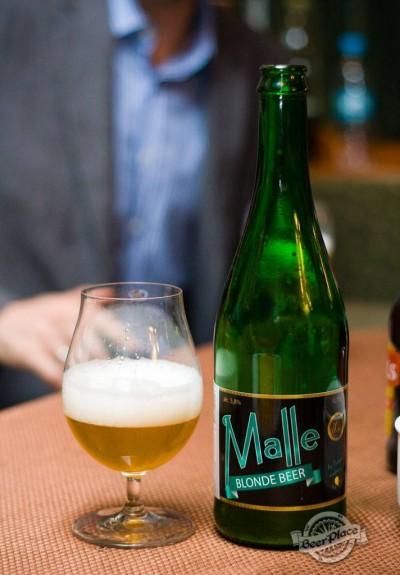 Дегустация пива Malle Blonde