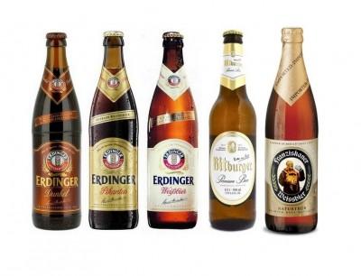 Скидки на немецкое пиво в Мега маркете на Петровке