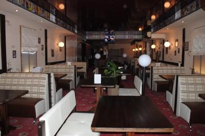 Пивной ресторан Мистер Бо. Интерьер основого зала