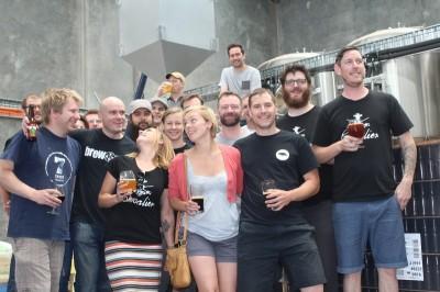 Большая совместная варка пива в Австралии