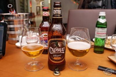 Дегустация пива Сармат Міцне