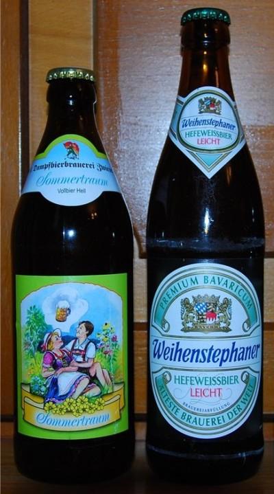 Sommertraum и Weihenstephaner Hefeweissbier Leicht - баварские новинки в Украине