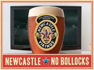 Newcastle Vikings Amber Ale - исторический коллаборационистский сорт