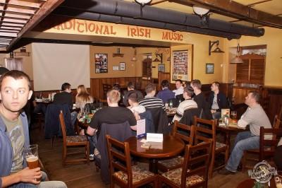Обзор ирландского паба OBriens. Второй этаж смотрит футбол