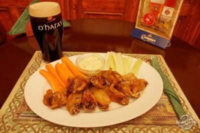 Обзор ирландского паба OBriens. Куриные крылышки