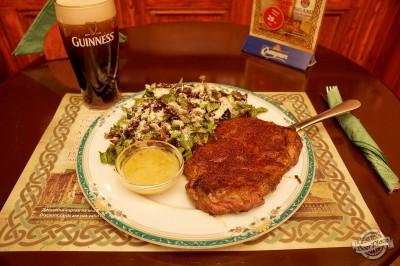 Обзор ирландского паба OBriens. Чикагский стейк