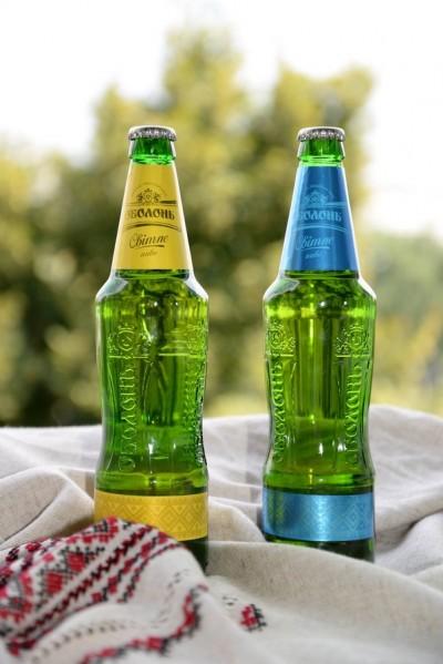 Лімітована партія пива Оболонь Світле