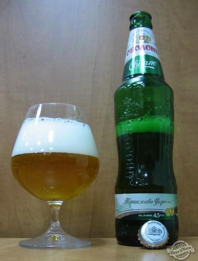 Дегустация пива Оболонь світле