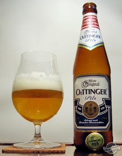 Дегустация пива OeTTINGER Pils