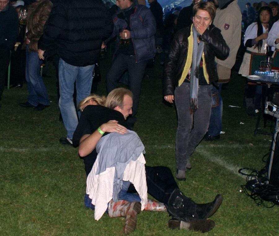 Фото Октоберфеста 2010 в Киеве. Небольшая авария