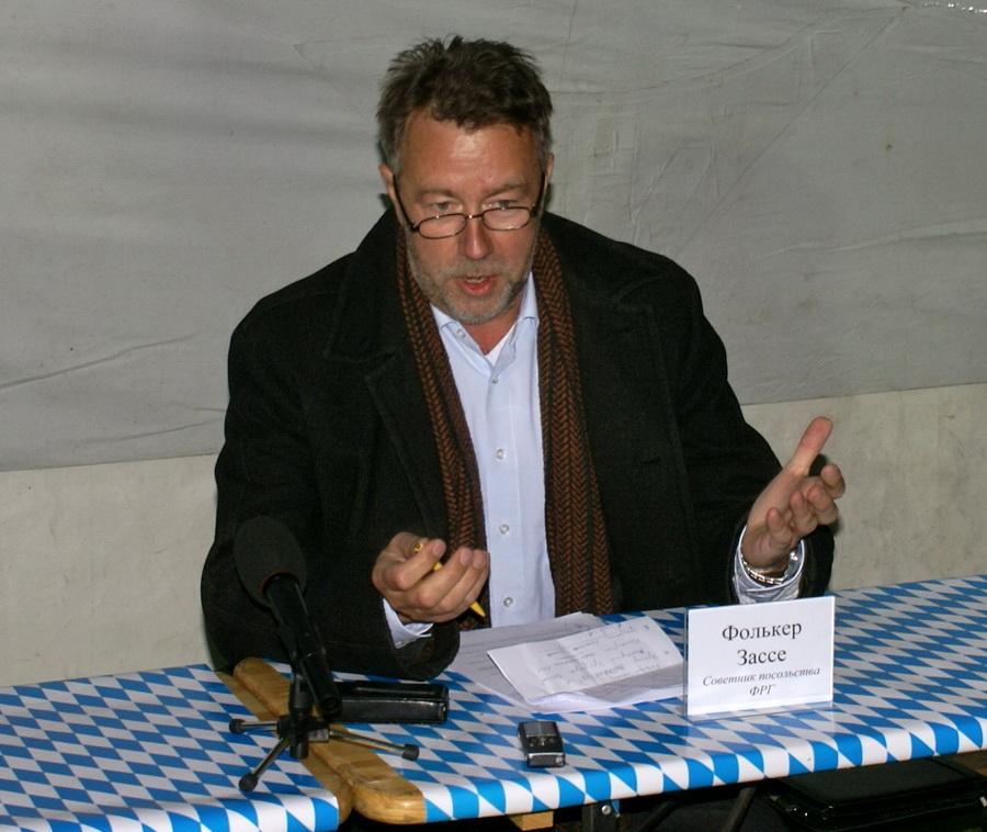 Фото Октоберфеста 2010 в Киеве. Фолькер Зассе