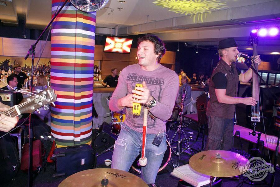 Открытие Olimpiyskiy Sport & Beer. БангладешЪ – Оркестр
