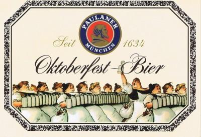 Paulaner Oktoberfest Bier