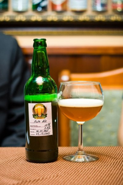 Дегустация Pale Ale от Pilsner