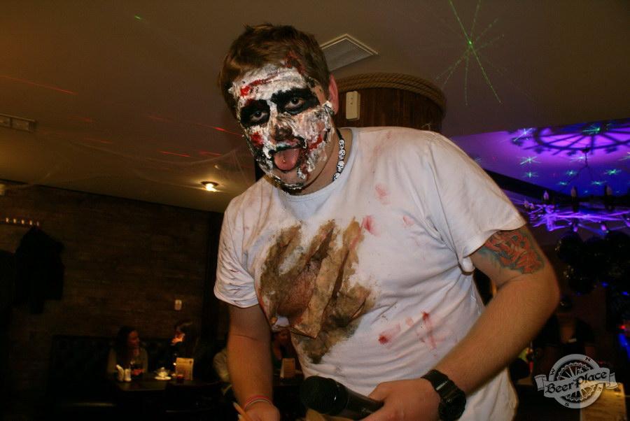 Pinta Cerveza Halloween 2011. Ведущий