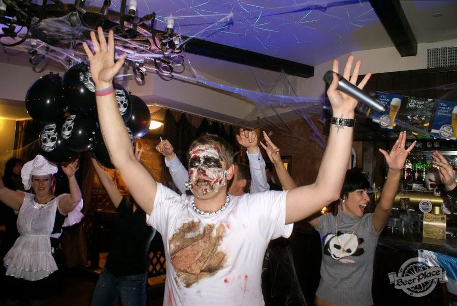 Pinta Cerveza Halloween 2011. Танцуем!