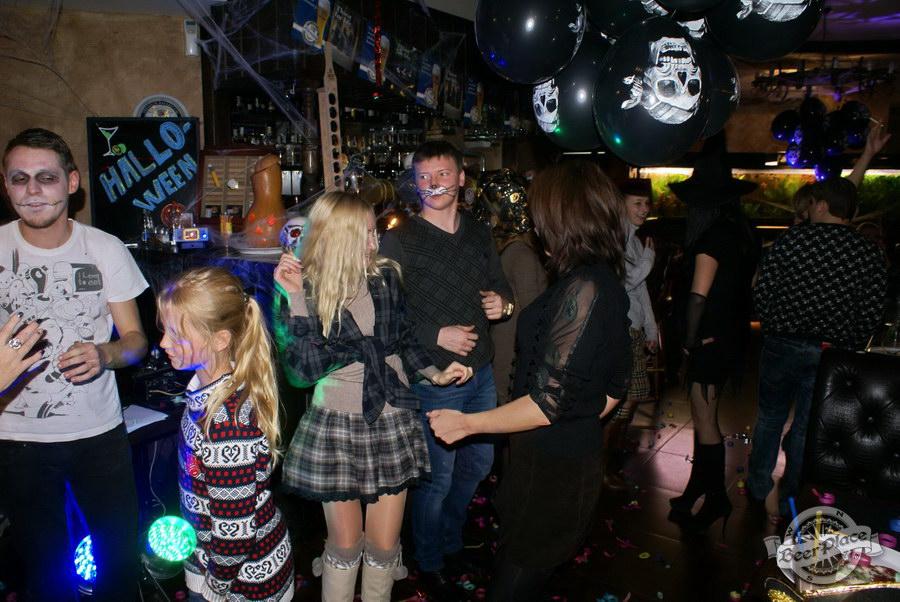 Pinta Cerveza Halloween 2011. Танцы-шманcы