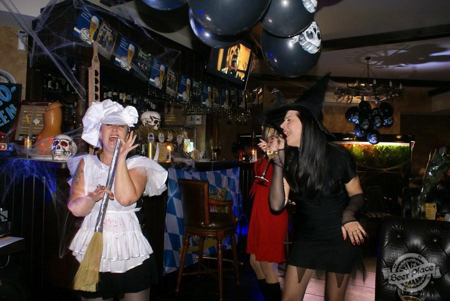 Pinta Cerveza Halloween 2011. Щас споем!