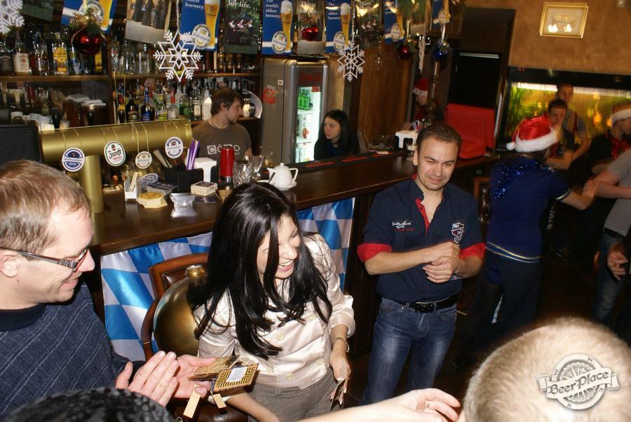 Новогодняя вечеринка в Pinta Cerveza. Розыгрыш 5 грамм золота