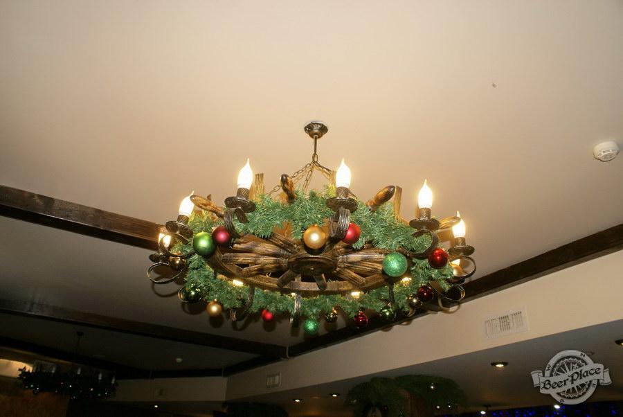 Новогодняя вечеринка в Pinta Cerveza. Новогоднее облачение