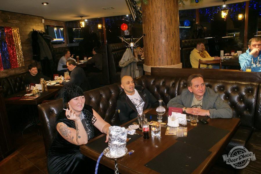 Новогодняя вечеринка в Pinta Cerveza. Киноманы