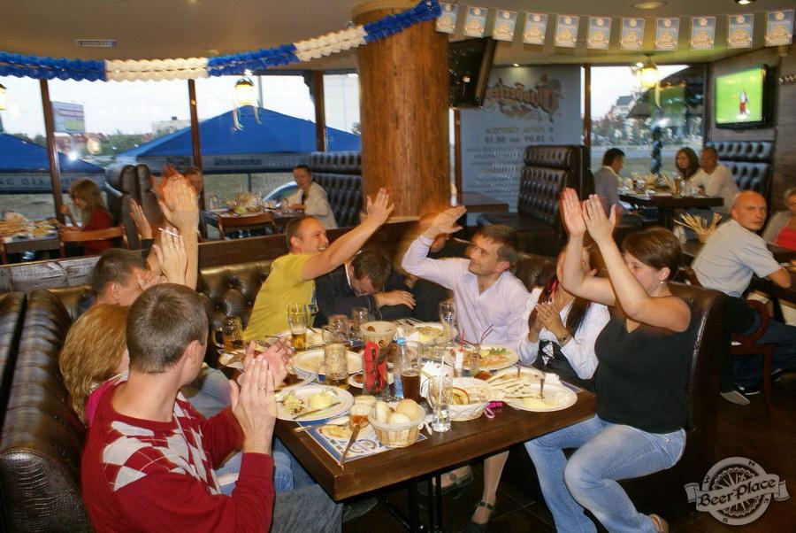 Pinta Cerveza открытие Oktoberfest 2011. Ура! Мы выиграли!