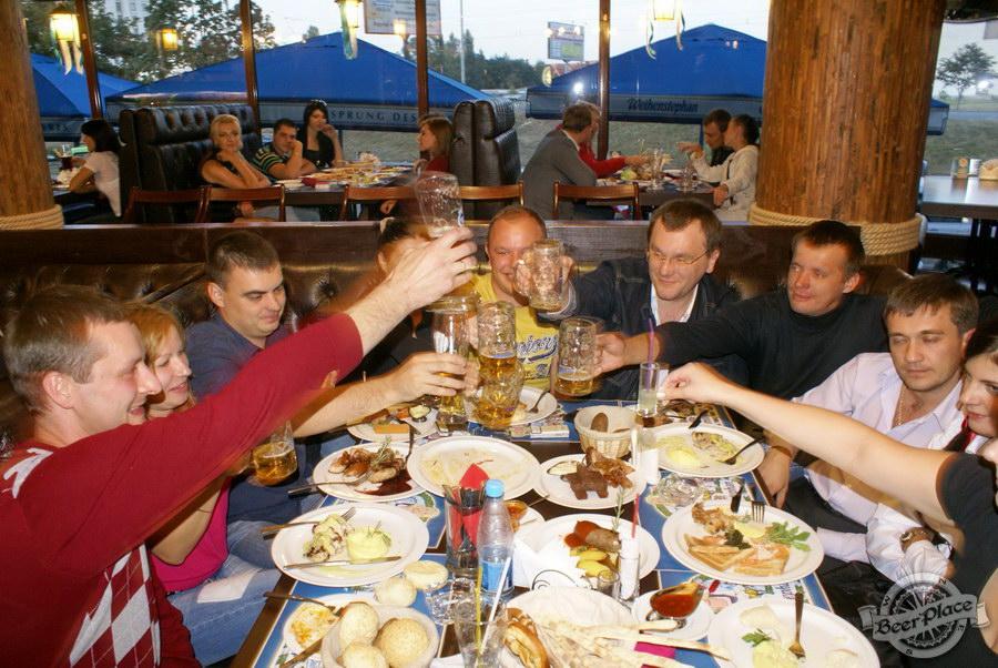 Pinta Cerveza открытие Oktoberfest 2011. Ура!