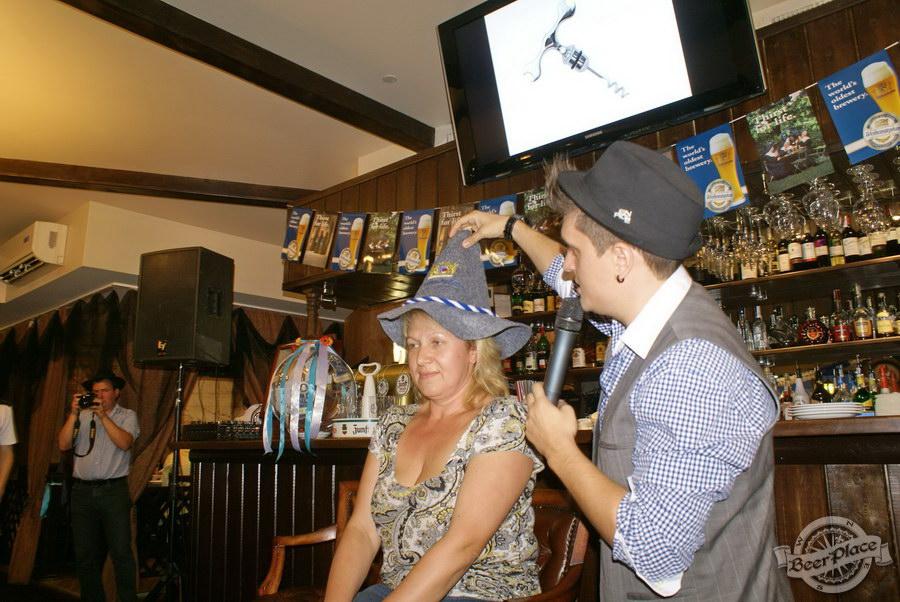 Pinta Cerveza открытие Oktoberfest 2011. Угадай то не знаю что