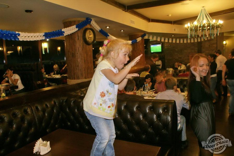 Pinta Cerveza открытие Oktoberfest 2011. Танцы-шмансы