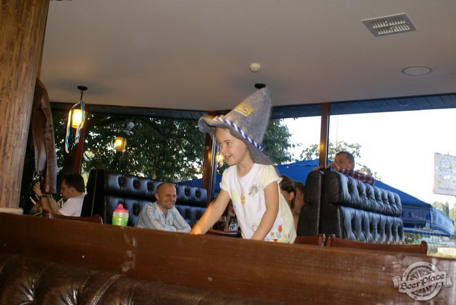 Pinta Cerveza открытие Oktoberfest 2011. Специальные дети из Германии