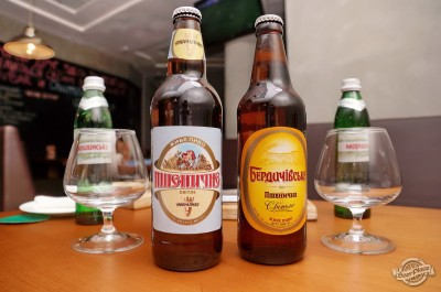 Дегустация «Пшеничного» от Бердичевского и Уманского пивзаводов в «PivBar»