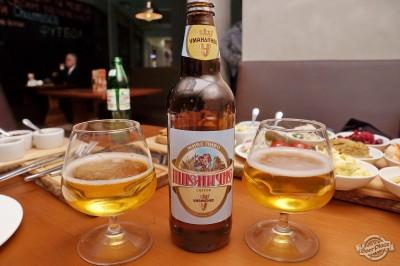 Дегустация пива Уманское Пшеничное