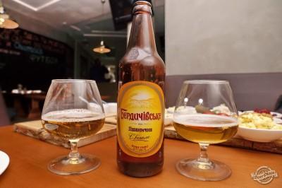 Дегустация пива Бердичевское Пшеничное