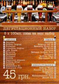 День молодежи и дегустационный сет в сети Пивная №1