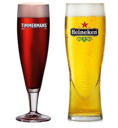 Разливной Timmermans Kriek и Heineken в Пивной №1 на Оболони