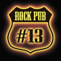Логотип рок-паба №13
