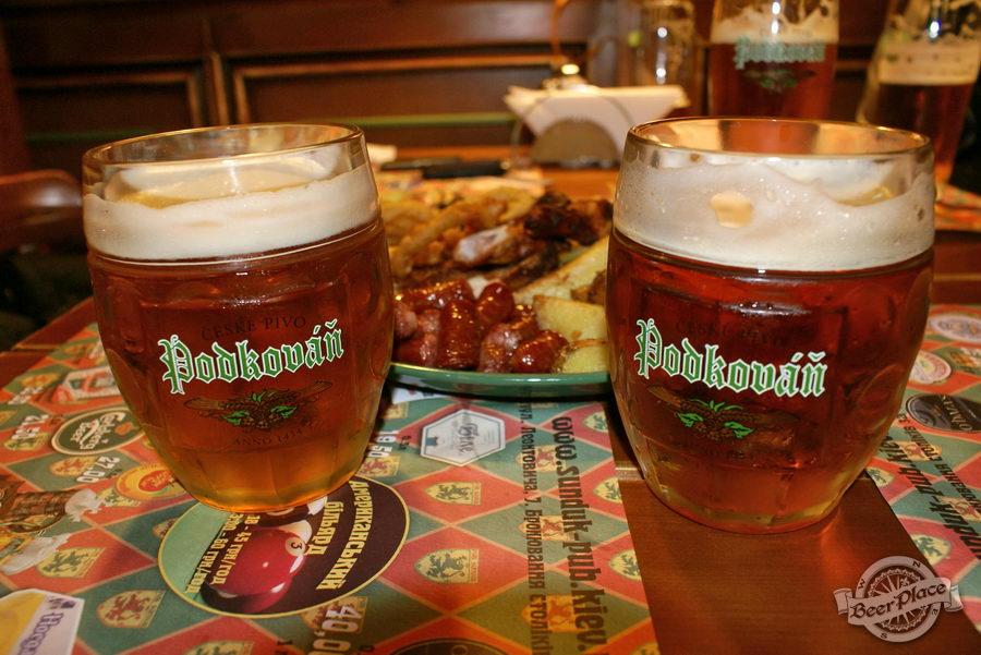 Дегустация пива. Podkovan 12 и 1434 Рождественское
