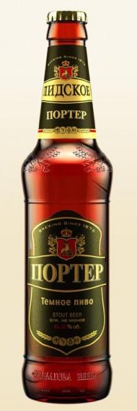 Лидское Портер - очередная новинка от Лидского пивзавода в Украине