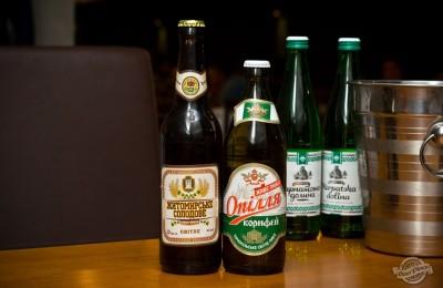 Дегустация пива Опілля Корифей и Житомирське солодове в PivBar